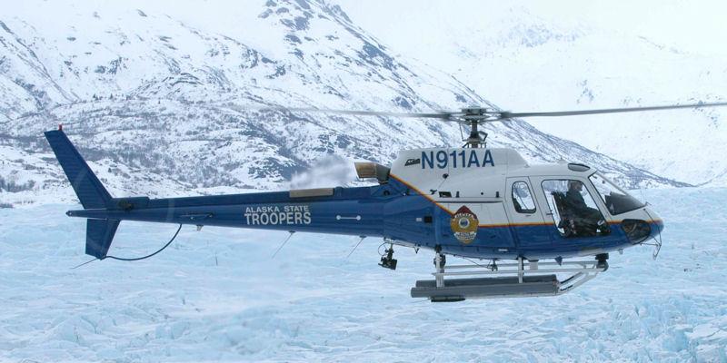 Alaska State Troopers Helo